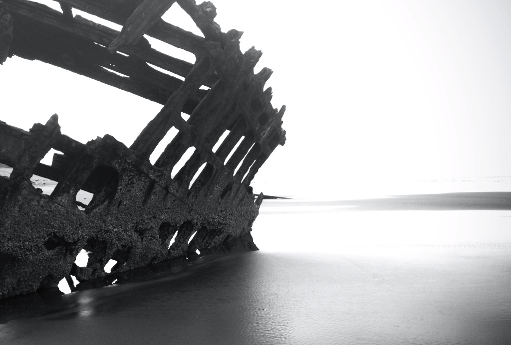 The Peter Iredale.