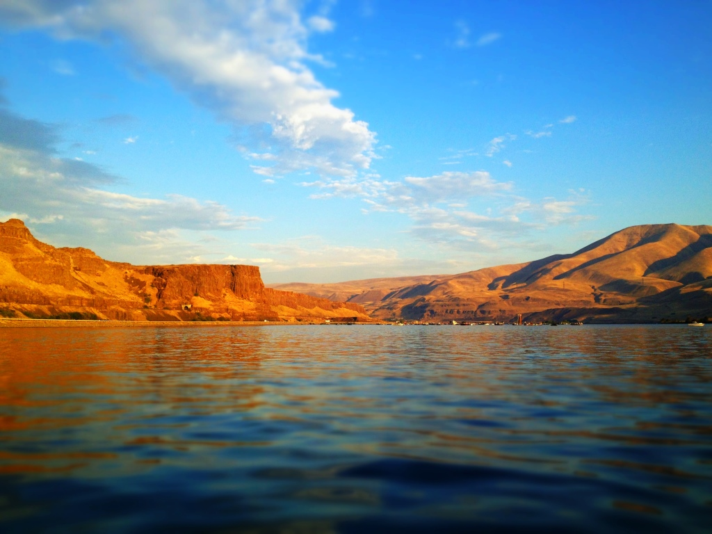 The incredible Columbia River Gorge.