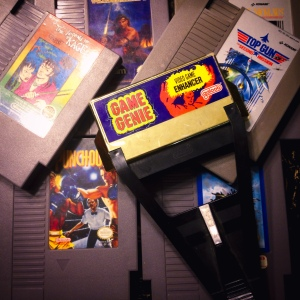 Okay, so maybe a little time plugged in... (So excited my new-to-me NES came with a Game Genie!)