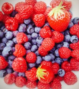 Berries from my garden...