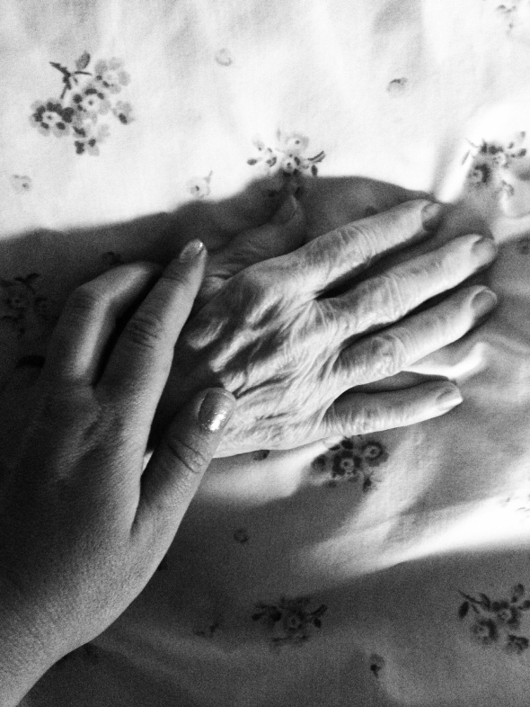 My grandma's hands have taught my own so much in life...