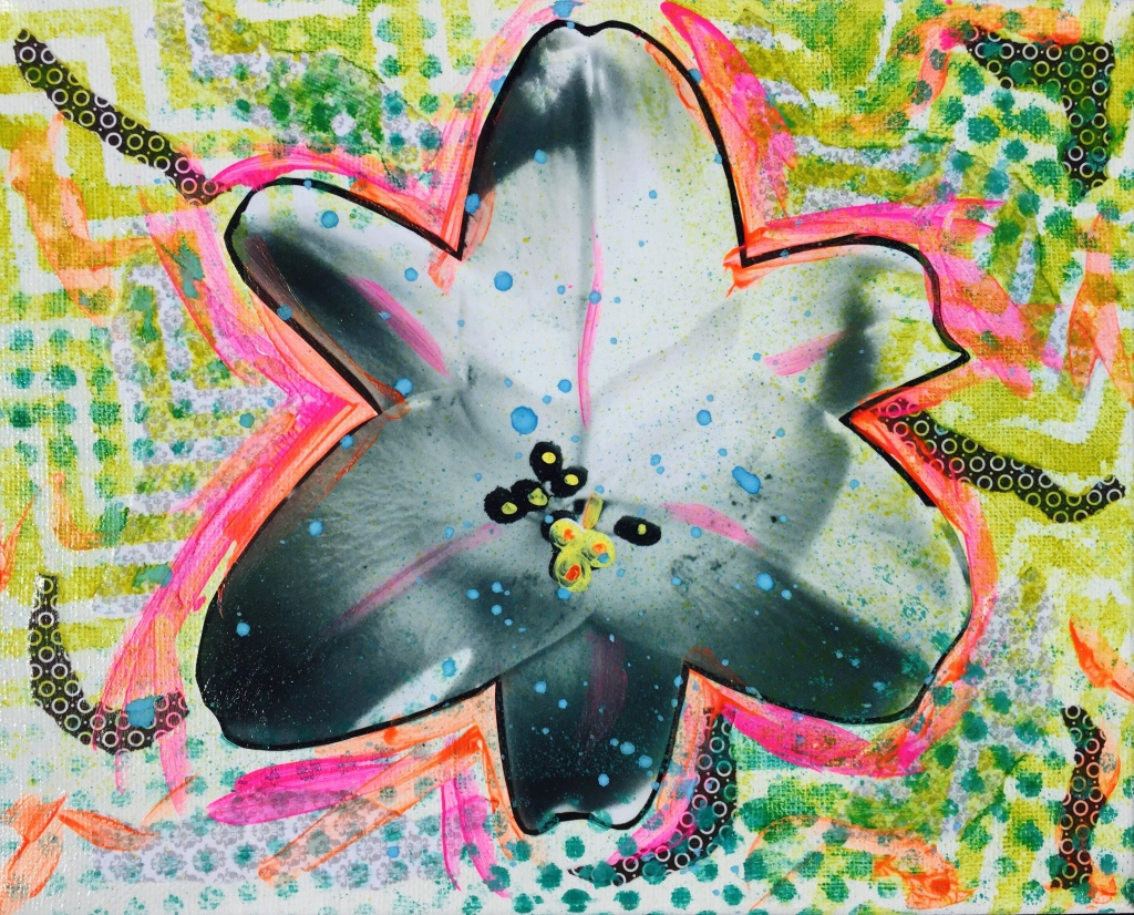 A untitled street art inspired lily by Jaklyn Larsen